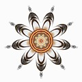 Mandala - Talisman 1630 by Marek Lutek