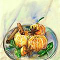 Mandarins by Yana Sadykova