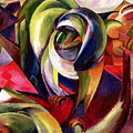 Mandrill by Franz Marc