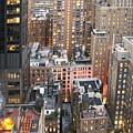 Manhattan At Dusk by Bob Slitzan