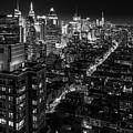 Manhattan At Night by Zolt Levay