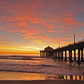 Manhattan Beach Sunset by Matt MacMillan