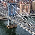 Manhattan Bridge  6413  by Karen Celella