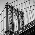 Manhattan Bridge by Frank Mari