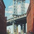 Manhattan Bridge by Lorrie Joaus