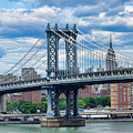 Manhattan Bridge by Mariola Bitner