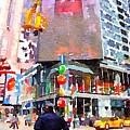Manhattan Crossroads by Denise Haddock