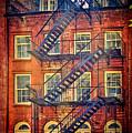 Manhattan Facade by Claude LeTien