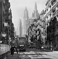 Manhattan, Henry Street 1935 by Gene Parks