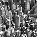 Manhattan In Monochrome. by David Hare