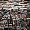 Manhattan Landscape by Joan Reese