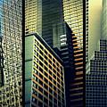 Manhattan Melange Triptych by Jessica Jenney