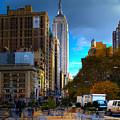 Manhattan Morning by Chris Lord