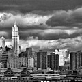 Manhattan Nyc Storm Clouds Cityview by Chuck Kuhn