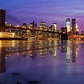 Manhattan Reflection by Mircea Costina Photography