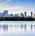 Manhattan Reflection by Scott Kemper