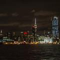 Manhattan Skyline 5 by Judy Smith