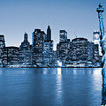Manhattan Skyline by Luciano Mortula