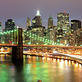 Manhattan Skyline by Sean Pavone
