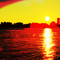 Manhattan Sunrise  by Geraldine Scull
