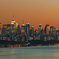 Manhattan Twilight I by Clarence Holmes