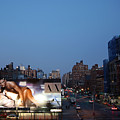 Manhattan View From The High Line by Madeline Ellis