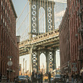 Manhattan Bridge From Washington Street by Jesse MacDonald
