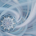 Manifest Beauty In Blue by Linda Phelps