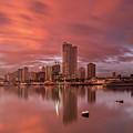 Manila At Sunset by Aries De Jesus