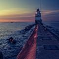 Manitowoc Sunrise by Drake Rekowski