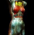 Mannequin Graffiti by Kim Gauge