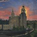 Manti Sunrise by Jeff Brimley