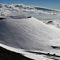 Mauna Kea Dressed In Snow by Heidi Fickinger