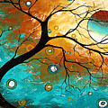 Many Moons Ago By Madart by Megan Duncanson