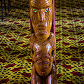 Maori Greeter by Roberta Bragan