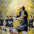 Maori Haka Again And Again by Miki De Goodaboom