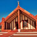 Maori Meeting House by Mark Dodd