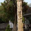 Maori Poupou by Sally Weigand