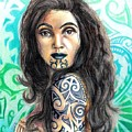 Maori Woman by Scarlett Royal