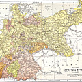 Map: German Empire by Granger