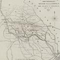 Map Illustrating General Sherman's March Through Georgia  by John Dower