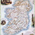 Map: Ireland, 1851 by Granger