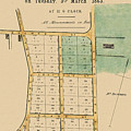 Map Of Auckland 1863b by Andrew Fare