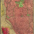 Map Of Buffalo 1896 by Andrew Fare