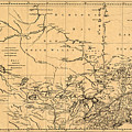 Map Of Canada 1762 by Andrew Fare