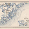 Map Of Charleston by MotionAge Designs