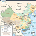 Map Of China by Roy Pedersen
