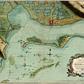 Map Of Jamaica 1756 by Andrew Fare