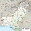 Map Of Pakistan2  by Roy Pedersen