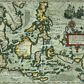 Map Of The East Indies by Dutch School
